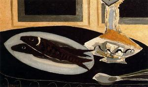 Georges Braque - Carafe And Fish