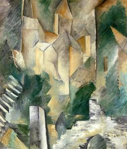Georges Braque - Churth at Carrieres Saint-Denis
