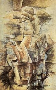 Georges Braque - Female Figure