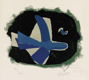 Georges Braque - Forest birds