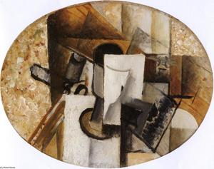 Georges Braque - Glass and Card