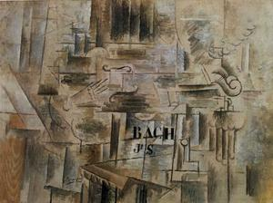 Georges Braque - Homage To J.S. Bach