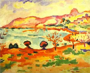 Georges Braque - Landscape in Estaque