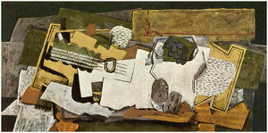 Georges Braque - Still Life with a Guitar