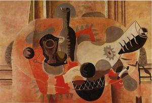 Georges Braque - Still Life with Guitar
