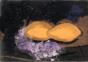 Georges Braque - Still Life with Lemons