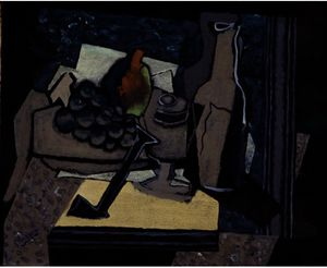 Georges Braque - Still Life with Pipe
