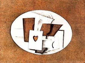 Georges Braque - The Ace of Hearts