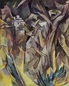 Georges Braque - The City on the Hill