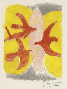 Georges Braque - The Descent into Hell