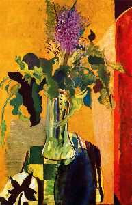 Georges Braque - The Glass of Lilies