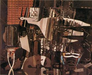 Georges Braque - The Studio (V)
