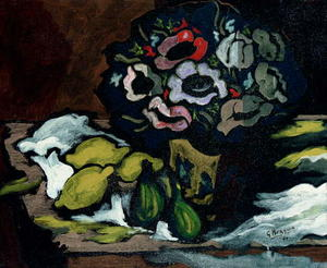 Georges Braque - Vase of anemonies