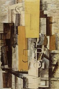 Georges Braque - Violin And Glass 2