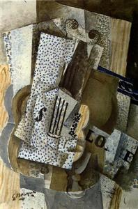 Georges Braque - Violin Melodie