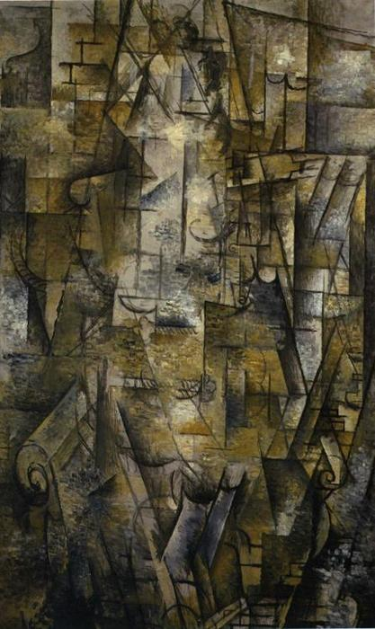 Woman Reading, 1911 by Georges Braque (1882-1963, France) | Museum Quality Reproductions | WahooArt.com