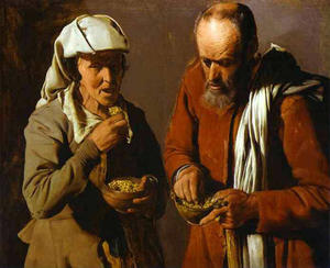 Georges De La Tour - The Porridge Eaters
