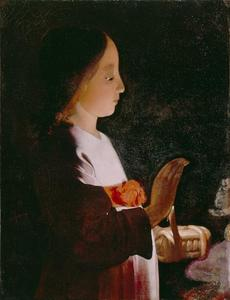 Georges De La Tour - Young Virgin Mary