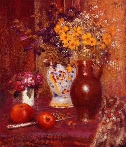 Georges Lemmen - Flowers and Apples