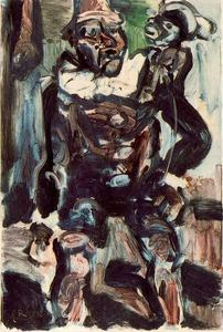 Georges Rouault - Clown and Monkey