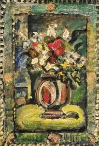 Georges Rouault - Decorative flowers 1