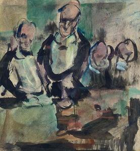 Georges Rouault - Dinner