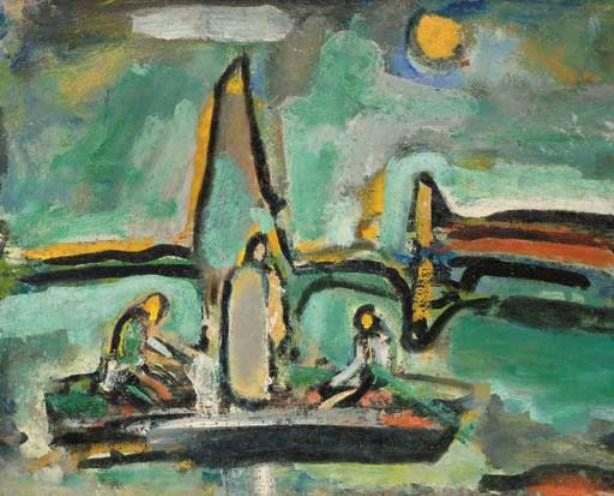 Georges Rouault Landscape