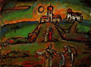 Georges Rouault - Night Fall