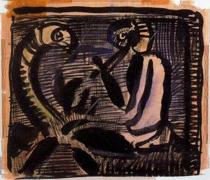Georges Rouault - Project for the reincarnation of Father Ubu 3