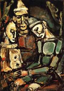 Georges Rouault - Three Clowns