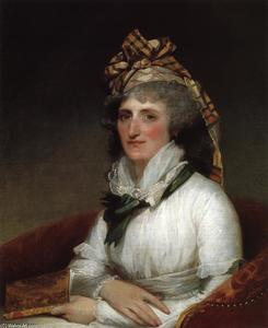 Gilbert Stuart - Mary Willing Clymer