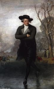 Gilbert Stuart - The Skater (William Grant)