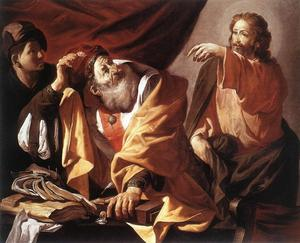 Hendrick Terbrugghen - The Calling of St Matthew 1