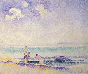 Henri Edmond Cross - Bathers 1