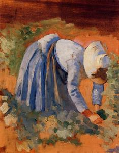 Henri Edmond Cross - Study for -The Grape Pickers-