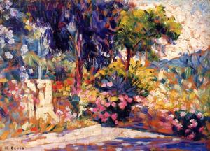 Order Museum Quality Reproductions : The Flowered Trees, 1905 by Henri Edmond Cross (1856-1910, France) | WahooArt.com