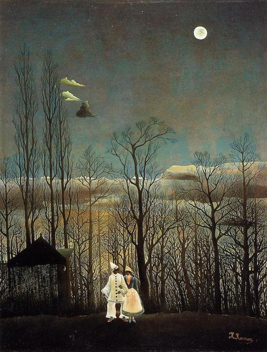 A Carnival Evening, Oil On Canvas by Henri Emilien Rousseau (1875-1933)