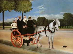 Henri Julien Félix Rousseau (Le Douanier) - Old Junior's Cart