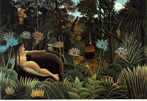 Henri Julien Félix Rousseau (Le Douanier) - The Dream