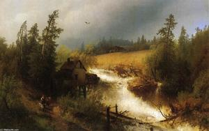Herman Herzog - The Old Watermill