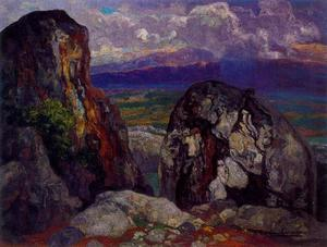 Hermen Anglada Camarasa - Boquer after the rain