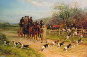 Heywood Hardy - Hounds First, Gentlemen, Hounds First