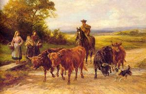 Heywood Hardy - The Handsome Drover