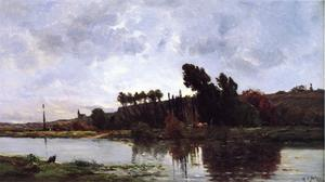 Hippolyte Camille Delpy - The Banks of a River