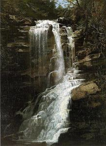 Homer Dodge Martin - Waterfall