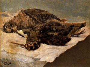 Ignacio Díaz Olano - Still life of woodcocks