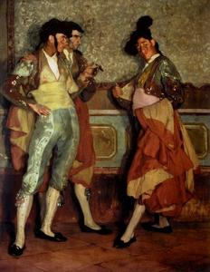 Ignacio Zuloaga Y Zabaleta - Village bullfighters