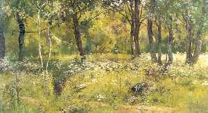 Ivan Ivanovich Shishkin - Grassy glades of the forest