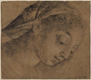 Jacopo Bassano (Jacopo Da Ponte) - Female head