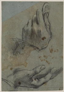Jacopo Bassano (Jacopo Da Ponte) - Studies of hands